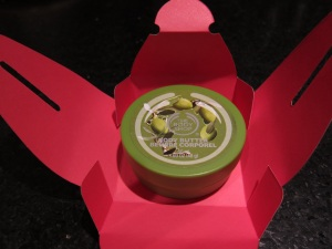 Little body butter from The Body Shop