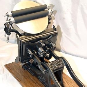 Kelsey Excelsior Letterpress Machine