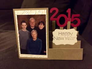 Handmade 2015 New Year's Card