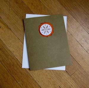 Boho Style Card