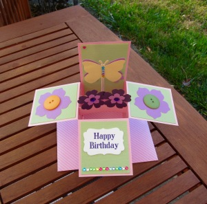 Butterfly Card-in-a-Box